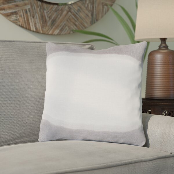 Ellington Smooth Linen Throw Pillow by Bloomsbury Market