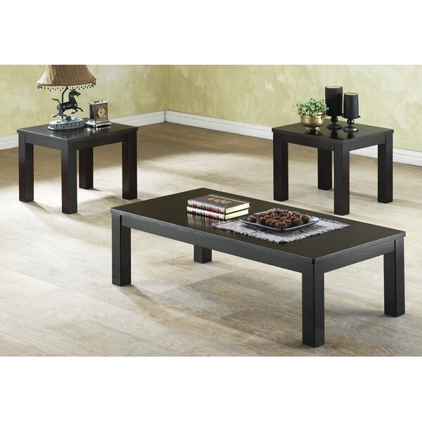 Mendoza 3 Piece Coffee Table Set by Winston Porter Winston Porter