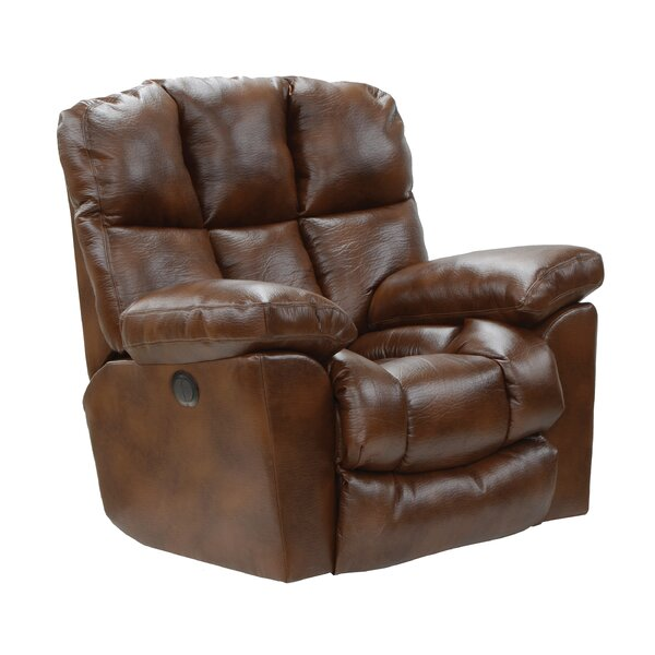 Orford Lay Flat Power Recliner Red Barrel Studio W001960707