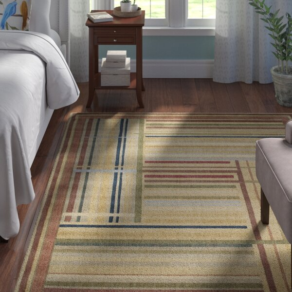 Smithtown Beige/Green/Blue Area Rug by Andover Mills