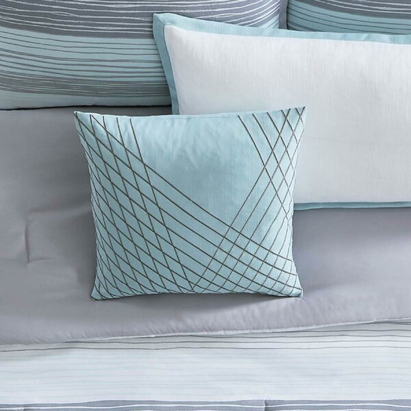 Kasu Stripe Throw Pillow by Vince Camuto