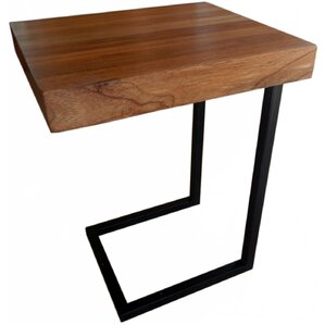 Esteli Wood End Table by Nicahome LLC