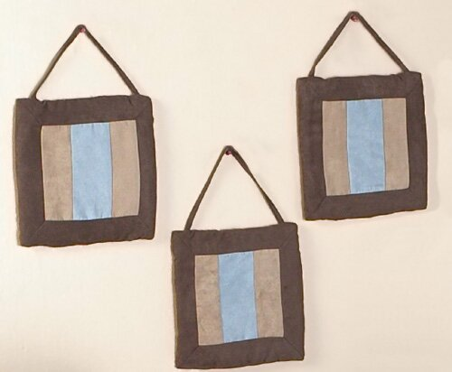 3 Piece Soho Wall Hanging Set by Sweet Jojo Designs