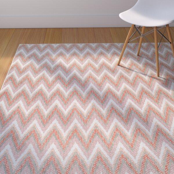 Conesus Modern Blue Indoor/Outdoor Area Rug by George Oliver