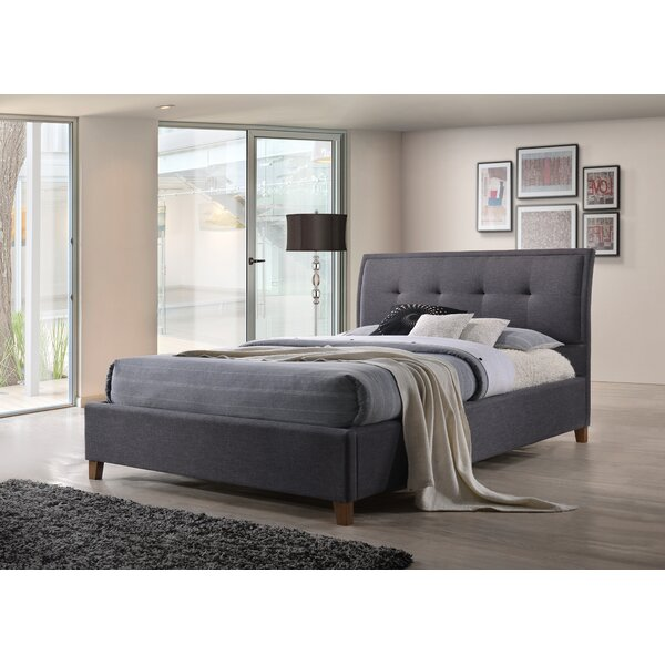 Alfie-James Upholstered Platform Bed by Latitude Run