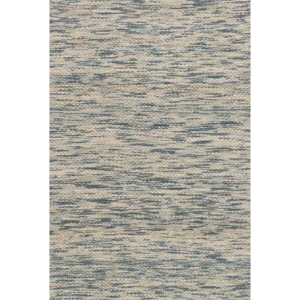 Turcios Hand-Woven Blue/Beige Area Rug by Millwood Pines