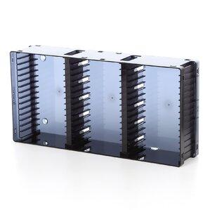 Disc Module 21 Dvd 45 Cd Multimedia Tabletop Storage Rack