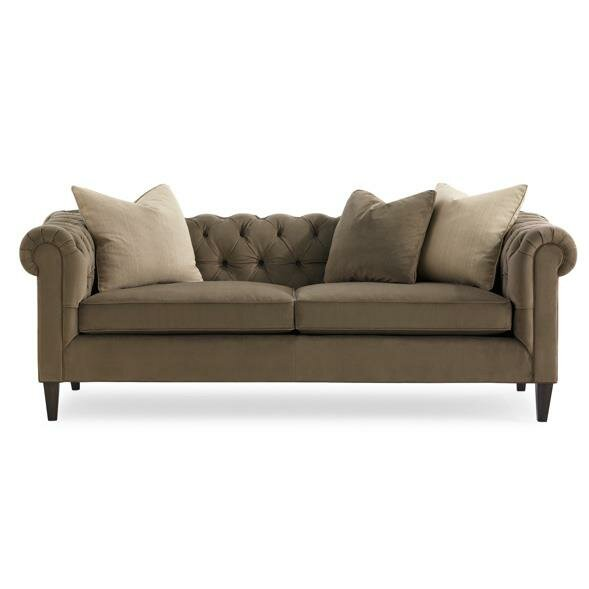 Artisan Chesterfield Sofa by Caracole Modern