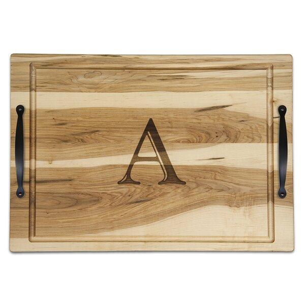Ambrosia Monogrammed Carved Platter by Martins Homewares
