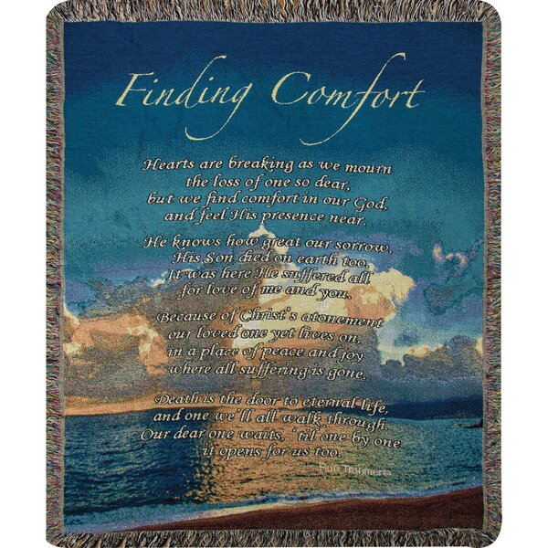 Finding Comfort Tapestry Cotton Throw by Manual Woodworkers & Weavers