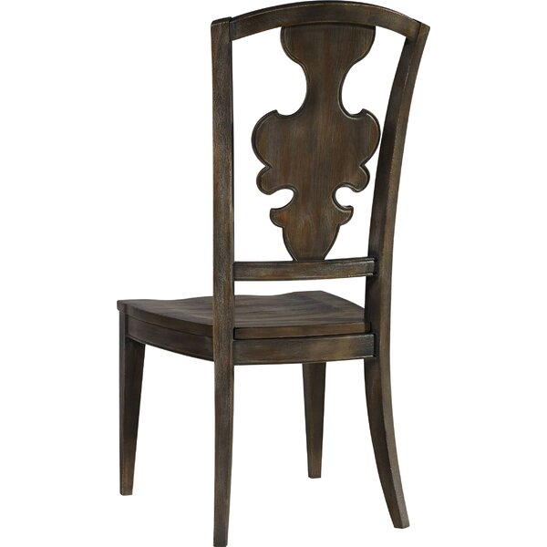Sanctuary Queen Anne Back Side Chair in Brown (Set of 2) by Hooker Furniture Hooker Furniture