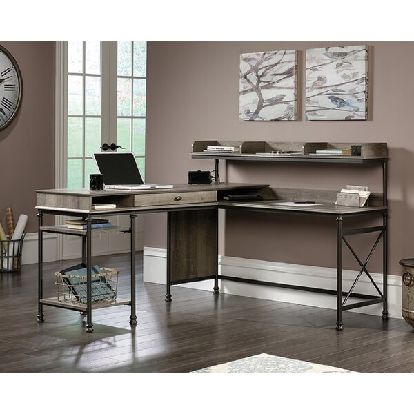 Meissner L-Shape Desk with Hutch
