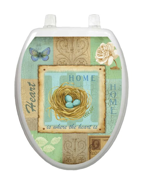 Home Collage Toilet Seat Decal by Toilet Tattoos