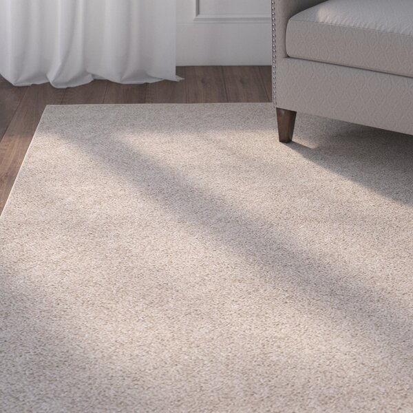 Curran Light Beige Area Rug by Andover Mills