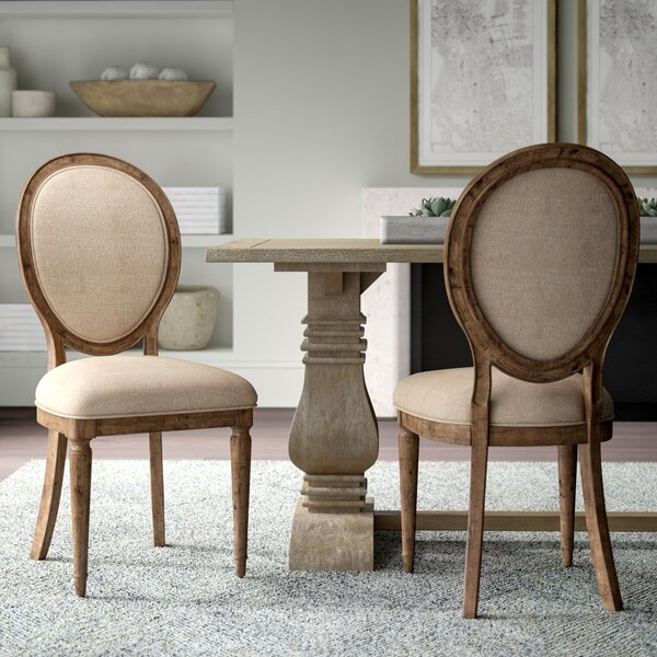 Margie Upholstered Dining Chair (Set of 2) by Greyleigh