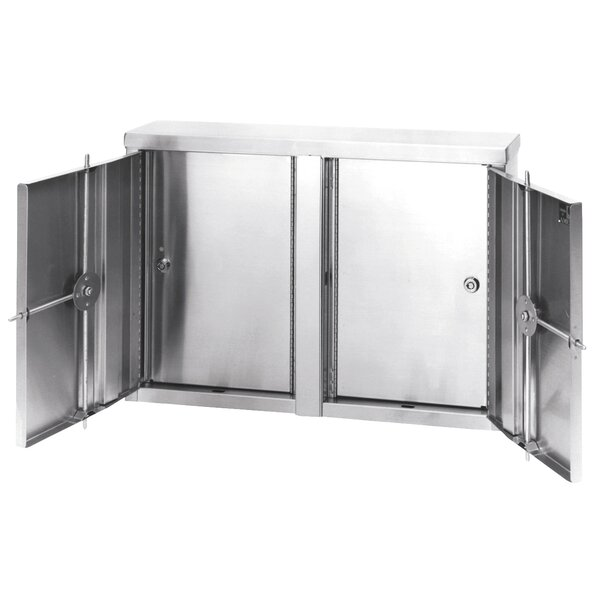22 W x 15 H Wall Mounted Cabinet by Omnimed