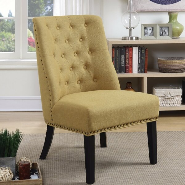 Creston Patently Flawless Side Chair by Bay Isle Home