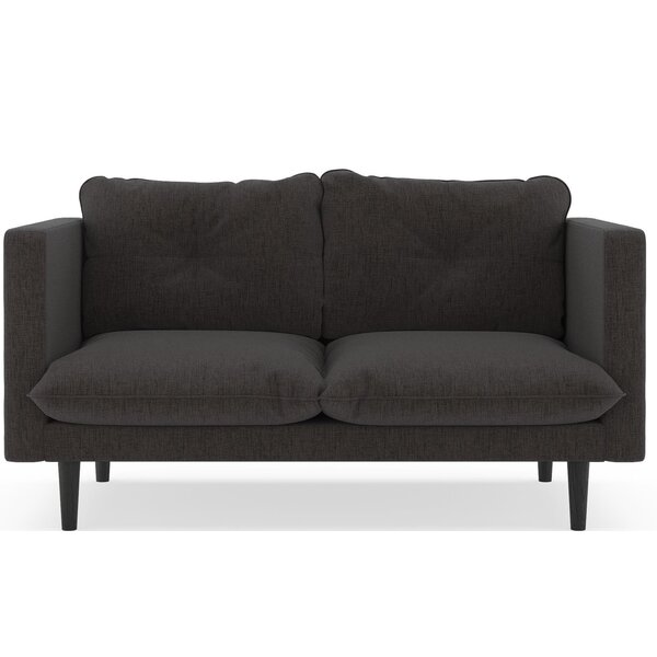 Rodman Pebble Weave Loveseat by Brayden Studio