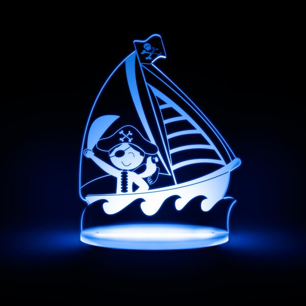 Pirate LED Night Light by Total Dreamz