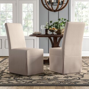 Inexpensive António Upholstered Slipcovered Side Chairs (Set of 2) By Birch Lane™