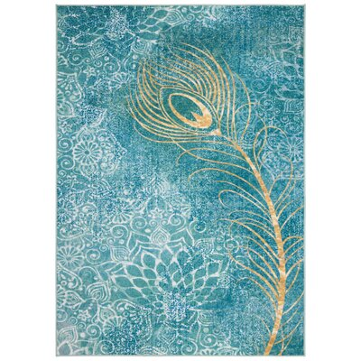 Blue Amp Yellow Amp Gold Area Rugs You Ll Love In 2020 Wayfair