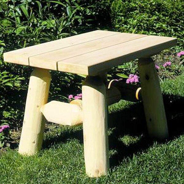 Almeida Wooden Side Table by Loon Peak