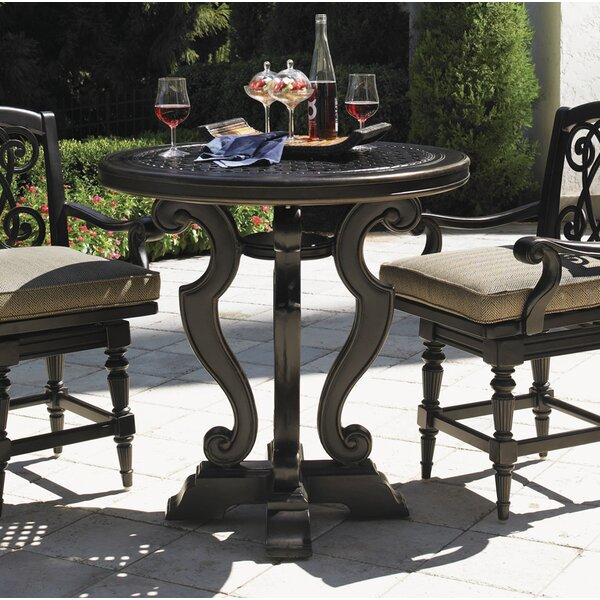 Kingstown Sedona Aluminum Bistro Table by Tommy Bahama Outdoor