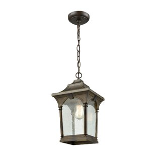 Where buy  Alena 1-Light Outdoor Hanging Lantern By Beachcrest Home