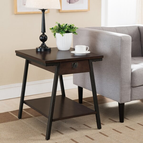 Shelbina End Table by Gracie Oaks