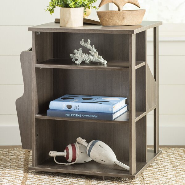 Albia End Table With Storage By Highland Dunes
