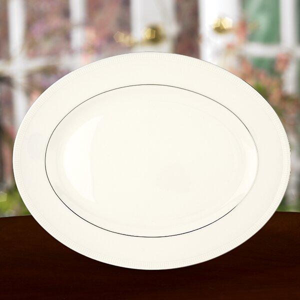Tribeca Oval Platter by Lenox