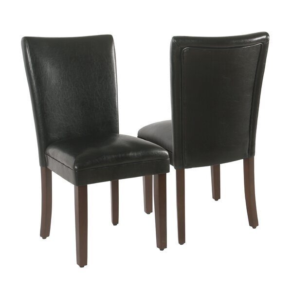 Kelm Upholstered Dining Chair (Set of 2) by Charlton Home