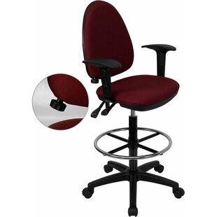 Krull Mid-Back Drafting Chair