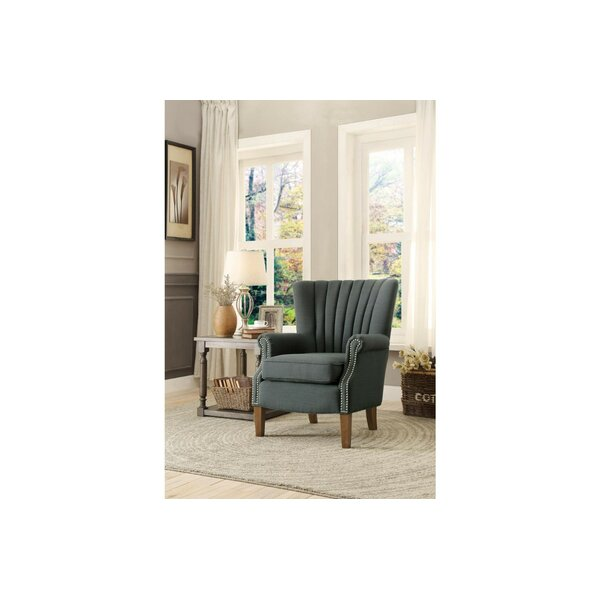 Lovins Wingback Chair by Rosecliff Heights