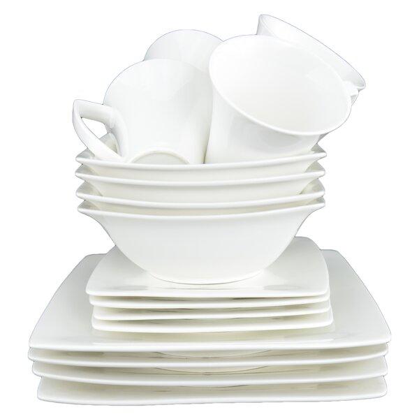 Du Lait 16 Piece Dinnerware Set by Tannex