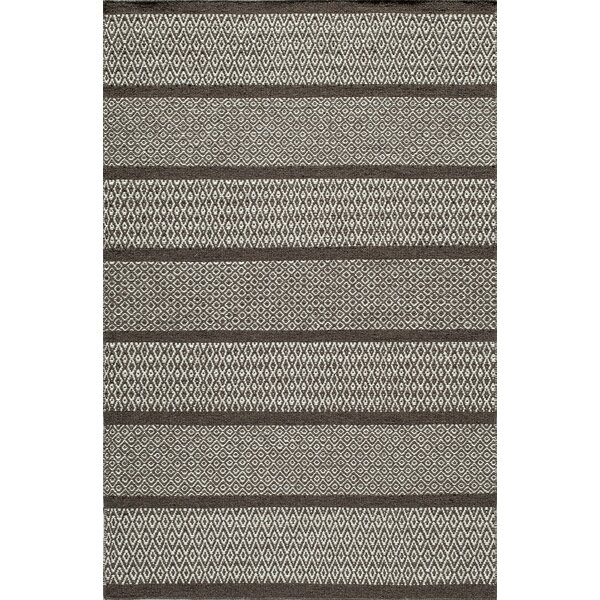 Willard Hand-Woven Chocolate Area Rug by Birch Lane™