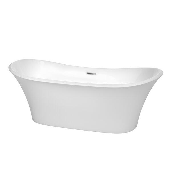 Bolera 71 x 31.5 Soaking Bathtub by Wyndham Collection
