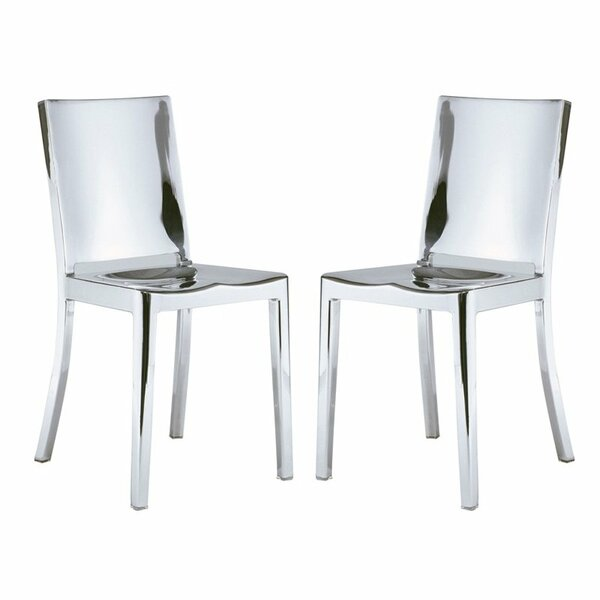 Portillo Arm Less Dining Chair (Set of 2) by Orren Ellis