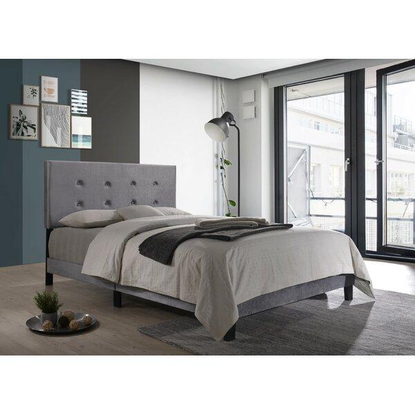 Axbridge Upholstered Platform Bed by Wrought Studio