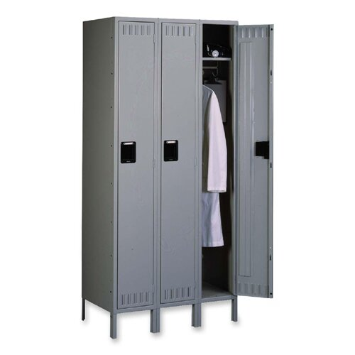 1 Tier 3 Wide Employee Locker by Tennsco Corp.1 Tier 3 Wide Employee Locker by Tennsco Corp.
