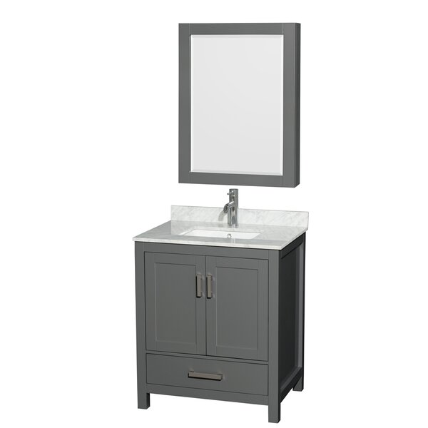 Sheffield 30 Single Bathroom Vanity Set with Medicine Cabinet by Wyndham Collection| @ $1,129.99