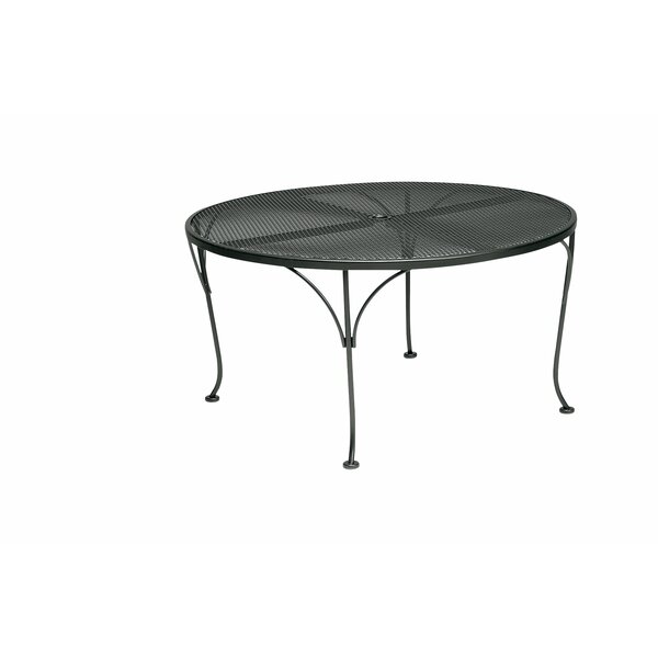 Briarwood Metal Dining Table by Woodard