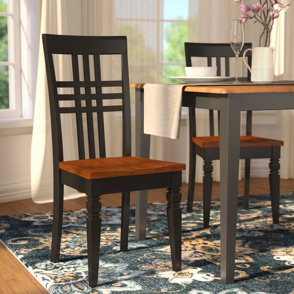 Sharonville Dining Solid Wood Dining Chair (Set of 2) by Charlton Home