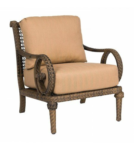South Shore Patio Chair with Cushions by Woodard