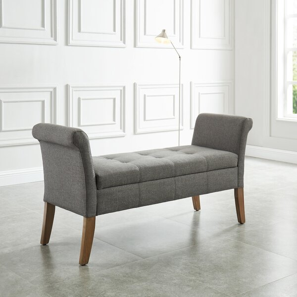 Alissa Upholstered Storage Bench by Charlton Home