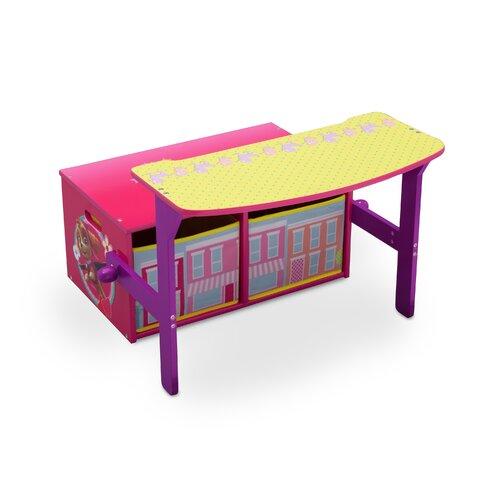 Paw Patrol Childrens Toy Storage Bench and Desk Paw Patrol