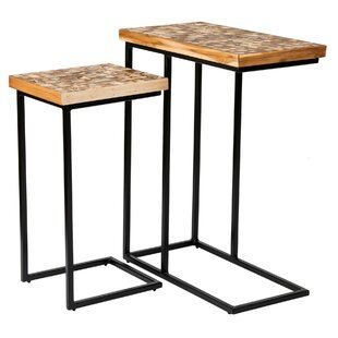 Look for Tomberlin 2 Piece Nesting Table By Union Rustic