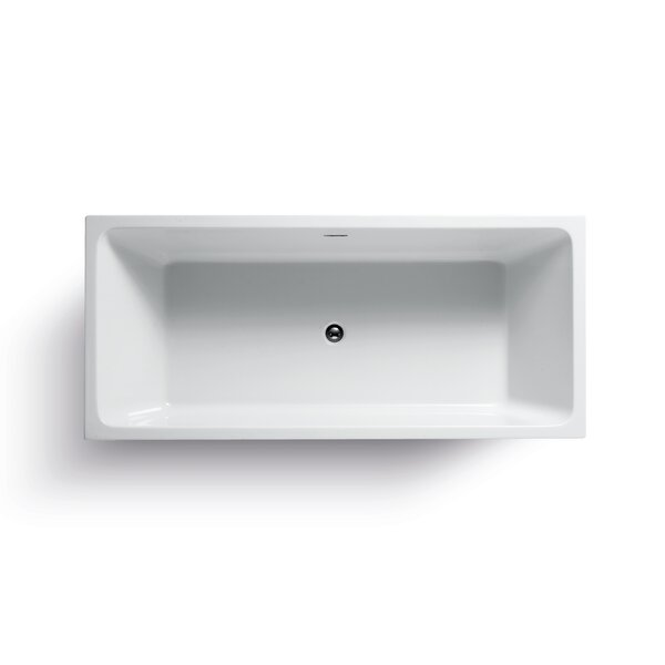 Onsen Acrylic 71 x 31.5 Freestanding Bathtub by Wet Republic