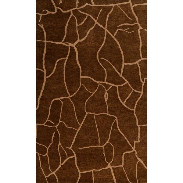 Hoddesd Brown Rug by Ebern Designs