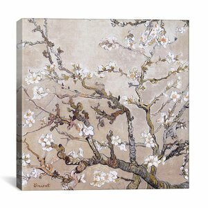 'Almond Branches in Bloom San Remy, C. 1890' by Vincent van Gogh Graphic Art Print by East Urban Home